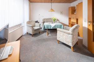 Ferienhaus Harmening FeWo 5 -Wohnzimmer